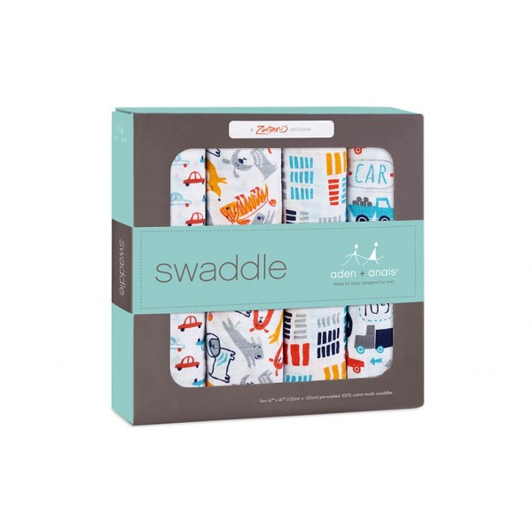 Aden + Anais Zutano Pup in Tow Classic Swaddles