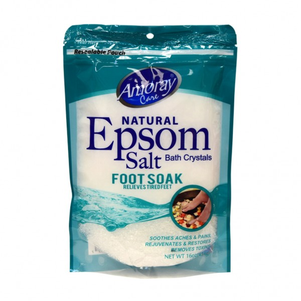 Amoray Care Eucalyptus Foot Soak Salt 454g