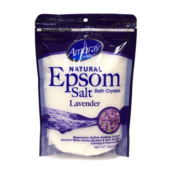 Amoray Care Lavender Epsom Salt 454g