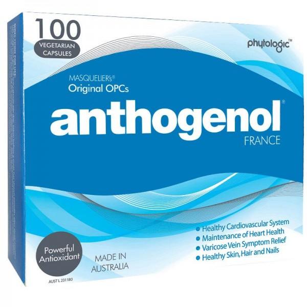 Anthogenol 100 Vege Capsules