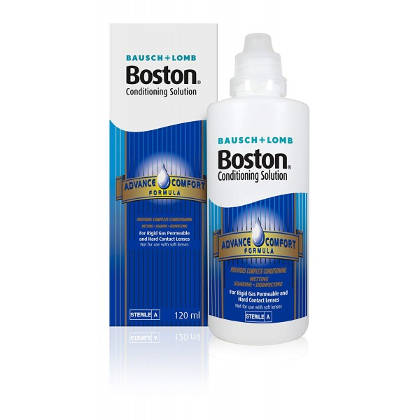 Bausch & Lomb Boston ADVANCE Conditioning Solution 120ml - RIGID GAS LENSES