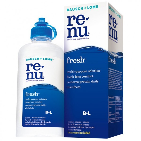 Bausch + Lomb Renu Fresh 120ml