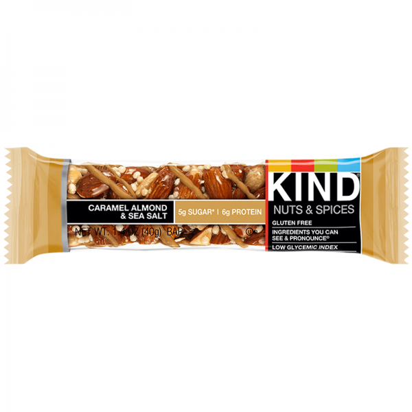 Be Kind Nut Bars Caramel Almond & Sea Salt 40g