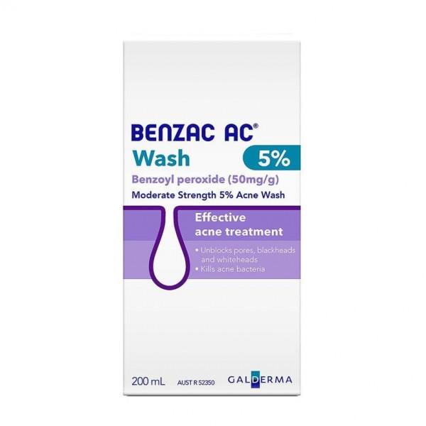 Benzac AC Acne Wash 5% 200ml