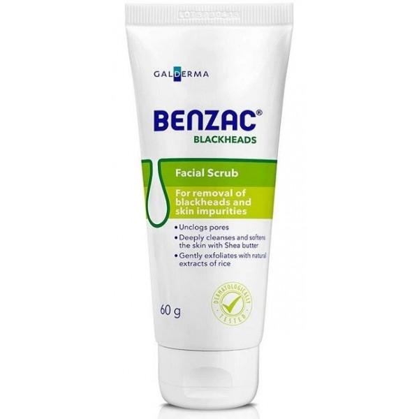 Benzac Blackheads Face Scrub 60g