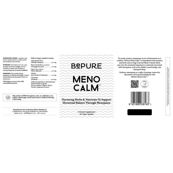 BePure MenoCalm 180 Capsules