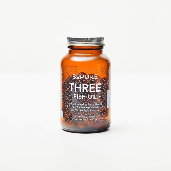 BePure Three Fish Oil 60 Capsules