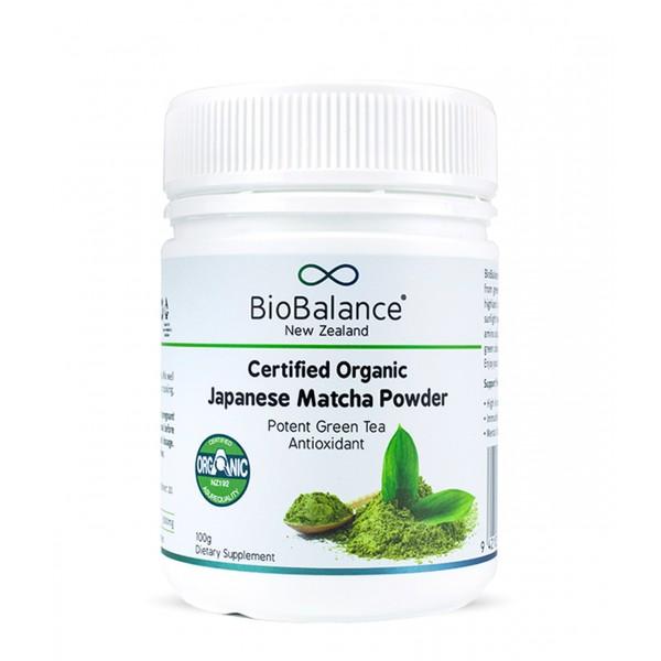 Bio Balance Certified Organic Japanese Matcha Powder 100g