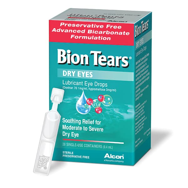 Bion Tears Eye Drops 28x0.4ml