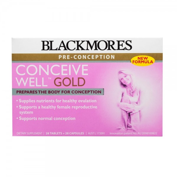 Blackmores Conceive Well GOLD 28 Tablets & 28 Capsules