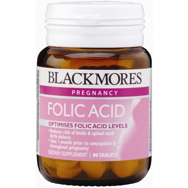 Blackmores Folic Acid 90 Tablets