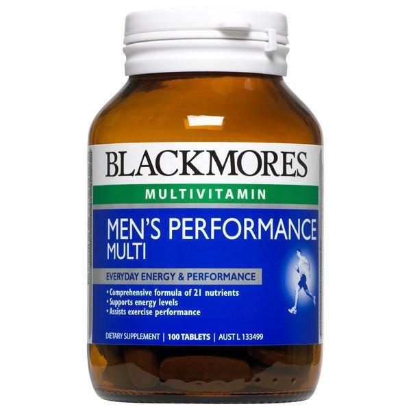 Blackmores Men's Performance Multi 100 Tablets