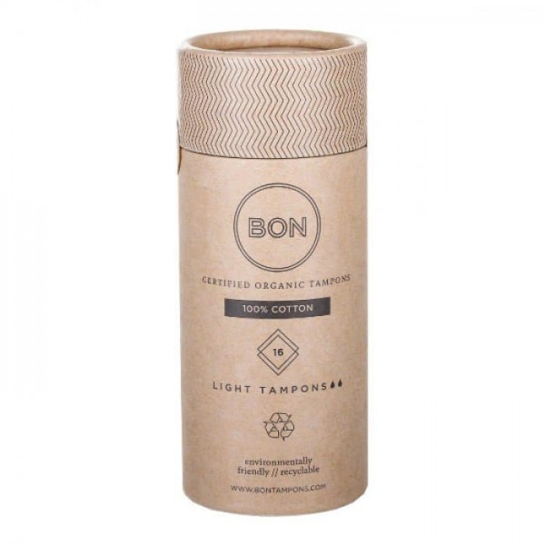 Bon Certified Organic Tampons Light 16s