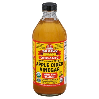 Bragg Apple Cider Vinegar Organic 473ml or 946ml