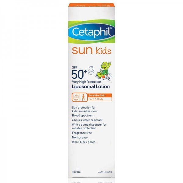 Cetaphil Sun Sunscreen Kids SPF50+ Liposomal 150ml