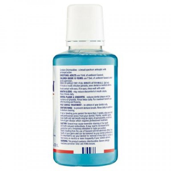 Savacol Antiseptic Mouth Rinse Fresh Mint 300ml