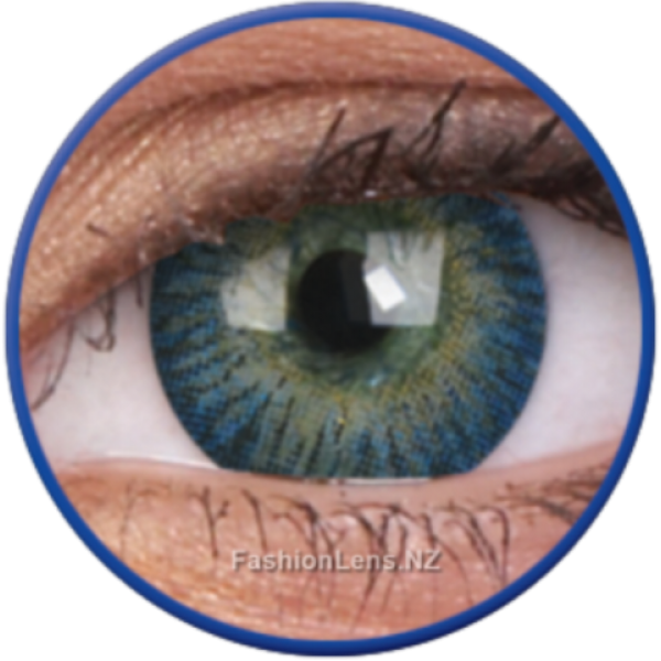 ColourVue Colour Contact Lens - 3 Tones Blue
