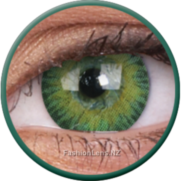 ColourVue Colour Contact Lens - 3 Tones Green