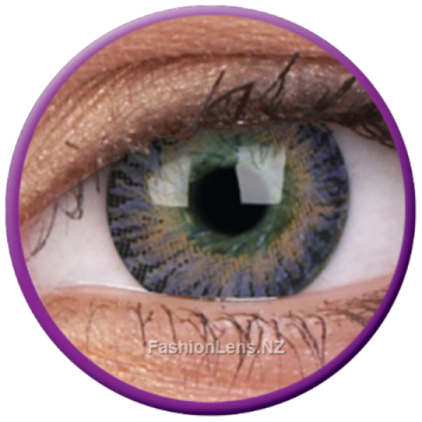 ColourVue Colour Contact Lens - 3 Tones Violet