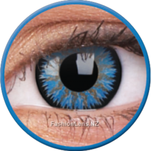 ColourVue Colour Contact Lens - Glamour Aqua