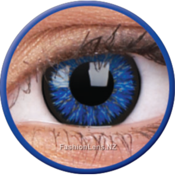 ColourVue Colour Contact Lens - Glamour Blue