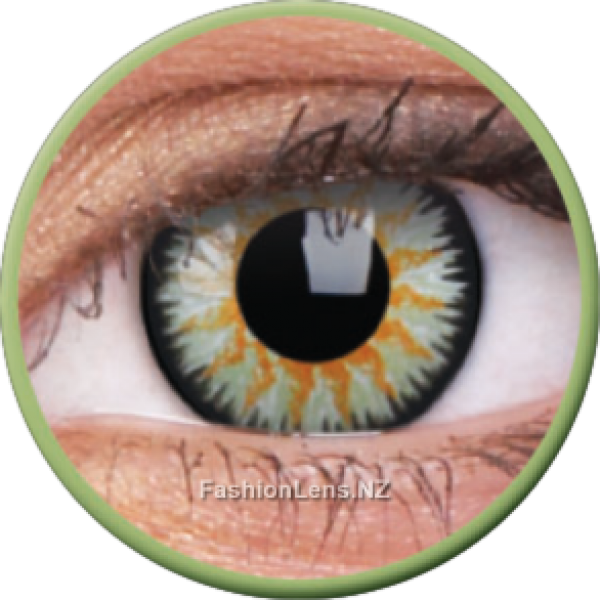 ColourVue Colour Contact Lens - Glamour Green
