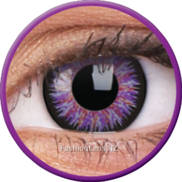ColourVue Colour Contact Lens - Glamour Violet