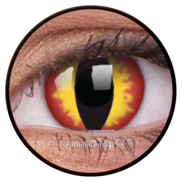 ColourVue Crazy Lens - Dragon Eyes