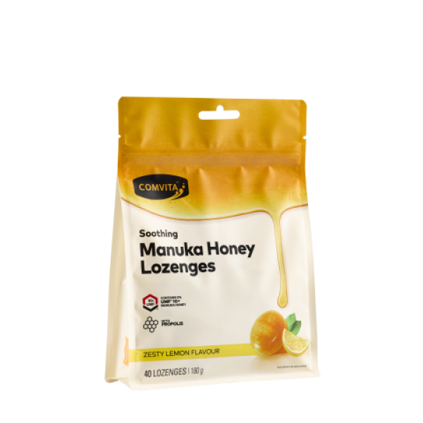 Comvita Manuka Honey Lozenges Lemon