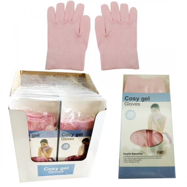 Cosy Gel Gloves Pink Colour