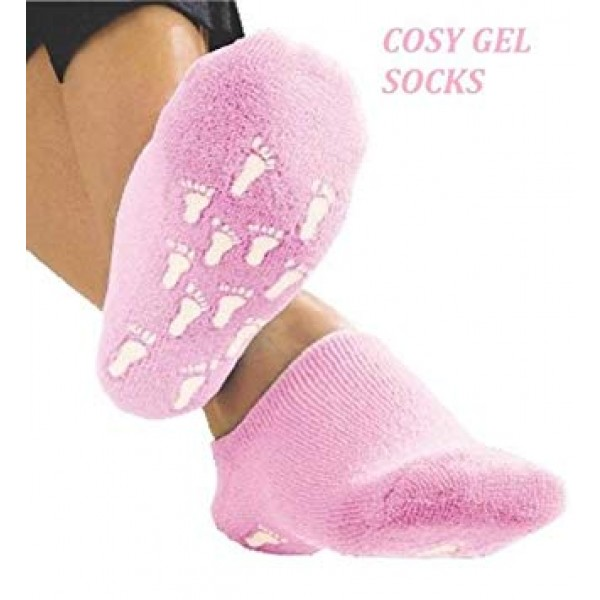 Cosy Gel Socks Pink Colour
