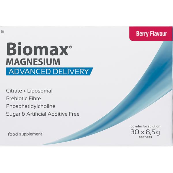 Coyne Healthcare Biomax Magnesium Berry Flavour 30 Sachets