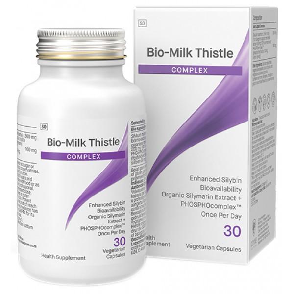 Coyne Healthcare Biomax Milk Thistle Complex 320mg 30 Vege Capsules