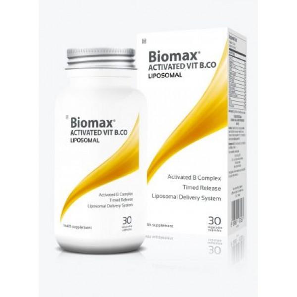 Coyne Healthcare Liposomal Biomax Activated B Complex 30 Vege Capsules