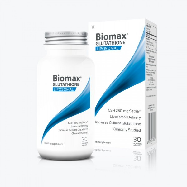 Coyne Healthcare Liposomal Biomax Glutathione 625mg 30 Vege Capsules