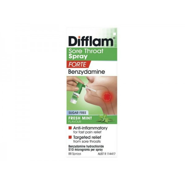 Difflam Sore Throat Spray Forte 15ml
