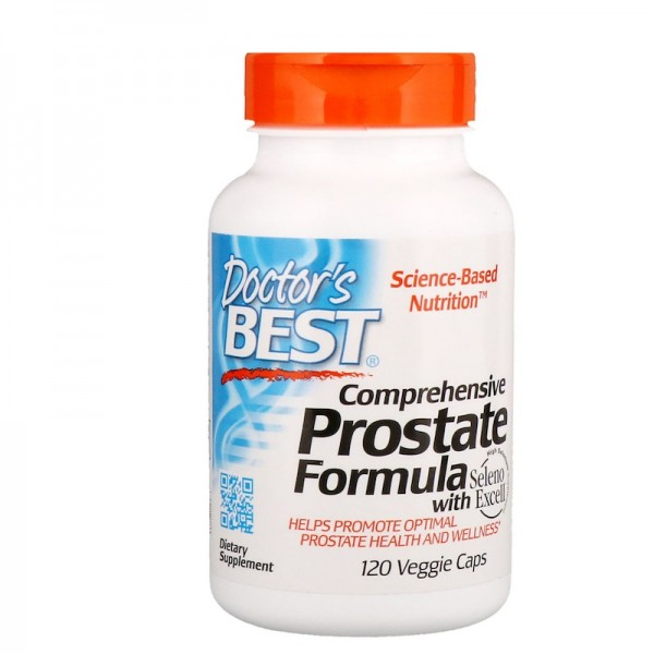 Doctor's Best Comprehensive Prostate Formula 120 Capsules