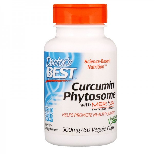 Doctor's Best Curcumin Phytosome with Meriva 500mg 60 Capsules