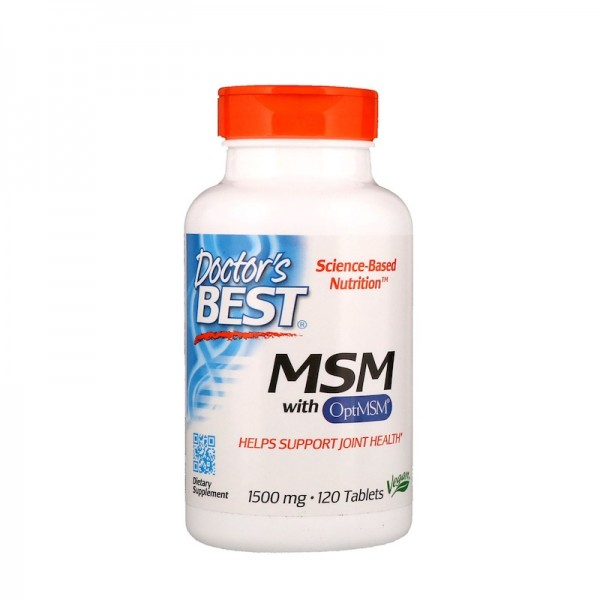 Doctor's Best MSM 1500mg 120 Tablets