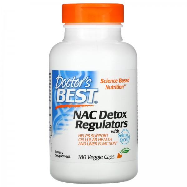 Doctor's Best NAC Detox Regulators Capsules