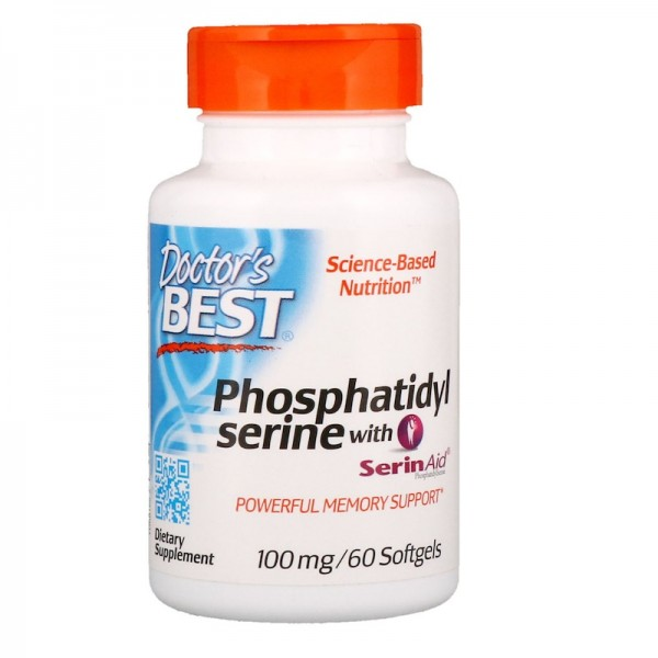 Doctor's Best Phosphatidylserine 100mg 60 Softgels
