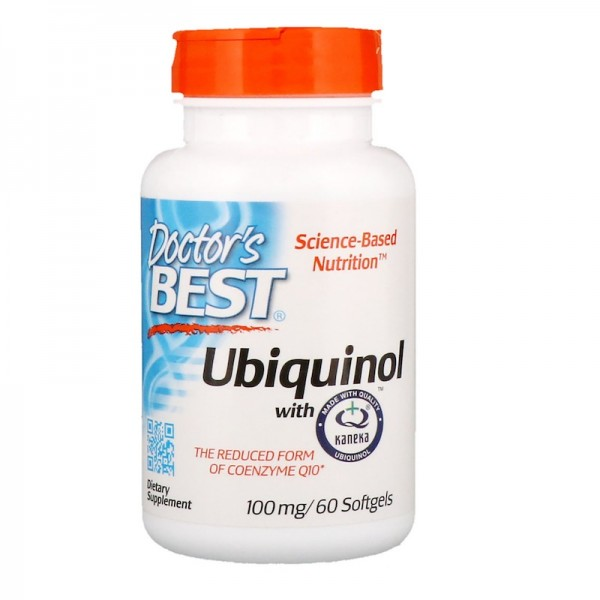 Doctor's Best Ubiquinol 100mg 60 Softgels