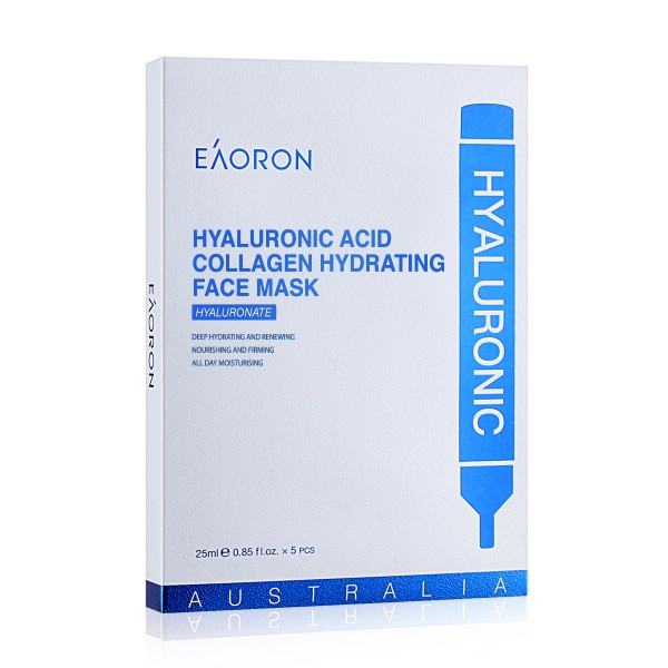 Eaoron Hyaluronic Acid Collagen Face Mask 5 Pieces