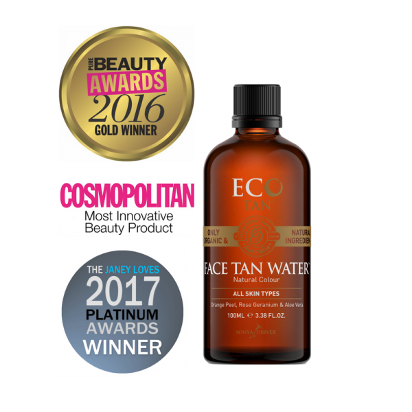 Eco Tan Face Tan Water 100ml Tube