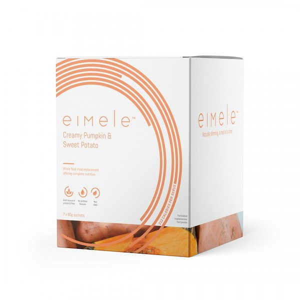 Eimele Creamy Pumpkin & Sweet Potato Soup 7 x 60g