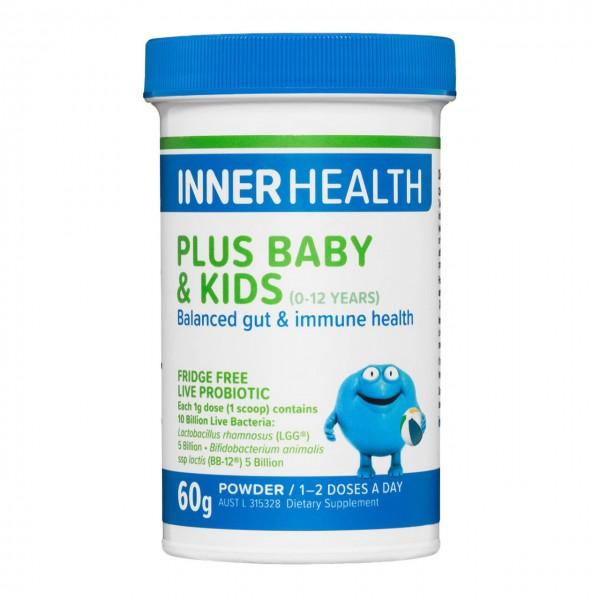 Inner Health Plus Probiotic Baby & Kids 60g Powder