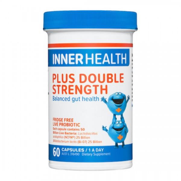 Inner Health Plus Probiotic Double Strength 60 Capsules
