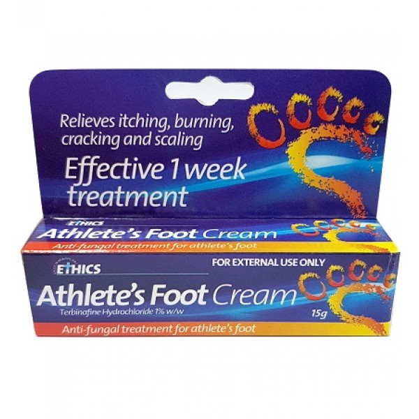 Ethics Athlete's Foot Cream 15g