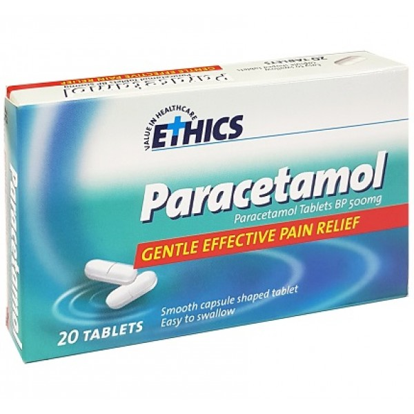 Ethics Paracetamol 20 Caplets