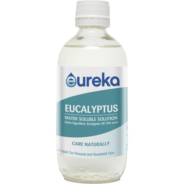 Eureka Eucalyptus Water Soluble Solution 200ml